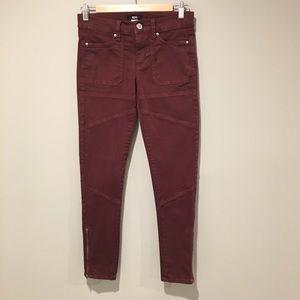 BDG Jefferson Zip Ankle Jeans. Size 26