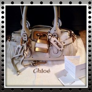 🍏CHLOÉ- Authentic Small Paddington Bag