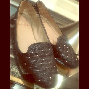 Vice Camuto Quilted Studded Flats