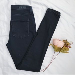 AG Mila High Rise Blue Skinny Denim jeans US 26