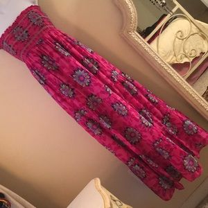 Old Navy floral maxi dress.