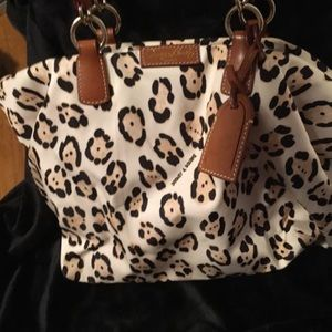 Dooney and Burke cheetah purse