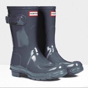 "Hunter Short Boots in ""Graphite"""
