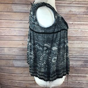 Free People One Tie Back Blouse Tank
