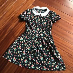 Babydoll apple 🍎 print dress