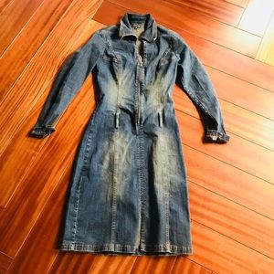 Vintage 90s denim dress