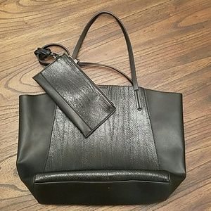 Faux Snakeskin Leather Bag and Purse