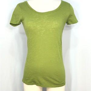 Wet Seal Pea green short sleeve T-shirt SZ M