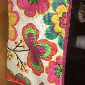 A makeup bag