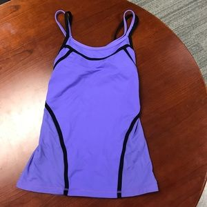 Lululemon Lavender Workout Tank Top Size 2