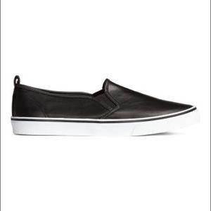 HM black slip ons size 39