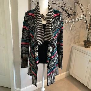 🛍 3/$25 SALE Double Zero multi-color sweater L