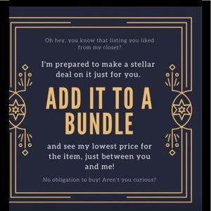 Bundle your likes for a killer deal!