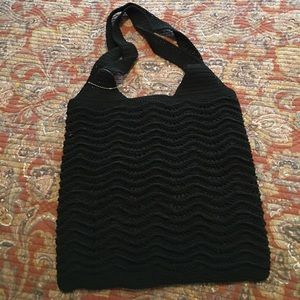 Black Lightweight Shoulder Bag