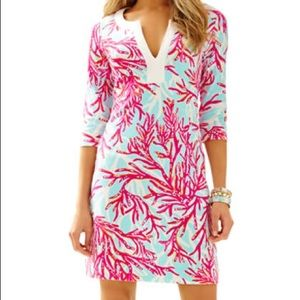 Lilly Pulitzer Veranda Dress in Underwater Escape