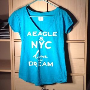 American Eagle short sleeve graphic tee size XS