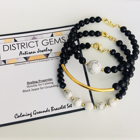 District Gems Jewelry - District Gems Calming Grounds Bracelet Set