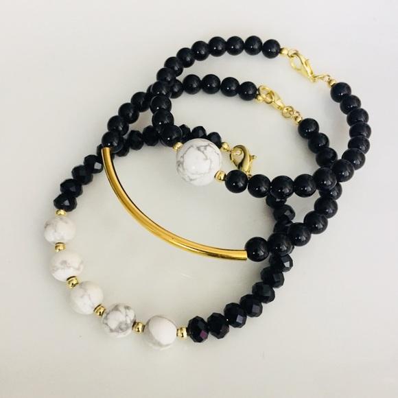 District Gems Jewelry - District Gems Calming Grounds Bracelet Set