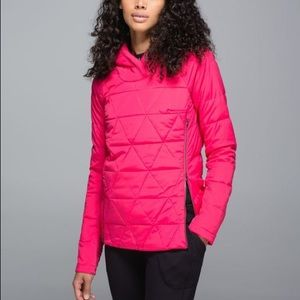 Lululemon pink Fluffed Up Pullover size 4