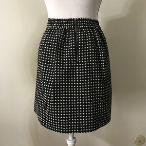 Dina Be Black & White Skirt Size Medium