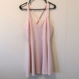 French Connection Pink Dress