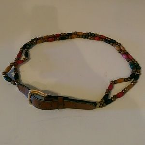 Unique Beaded Belt