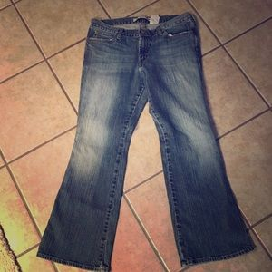 Gap Ultra Low Rise Boot Cut Jeans Size 12A