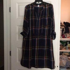 Old Navy shirt dress XL
