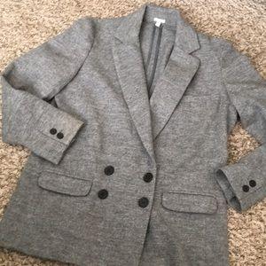 J. Crew Gray Wool Blazer. Like New