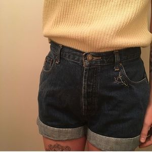 Vintage Express High Waisted Shorts