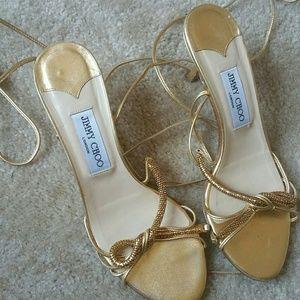 Jimmy choos strap sandals
