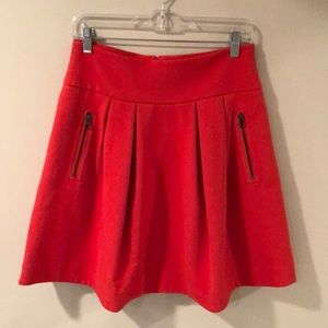 Anthropologie Scarlet Swing Skirt Size 6