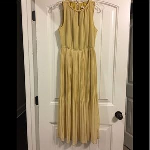 Maison Jules beautiful gold color dress