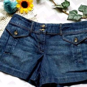 Womens New York & Company Denim  Shorts Size 8