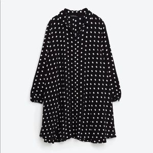 Zara Polka Dot Swing Dress
