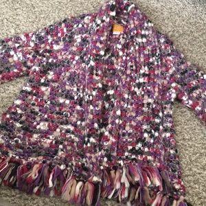 Boho large knit Cardigan! Size L