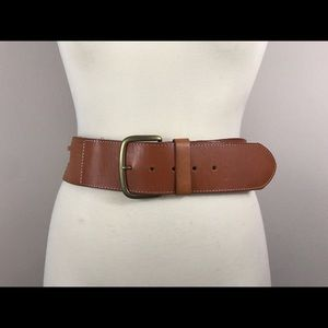 NWOT Linea Pelle Perforated Leather Belt