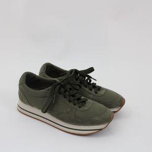 Zara Basic Platform Sneakers