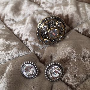 💍EUC PREMIERE RING AND EARRING.