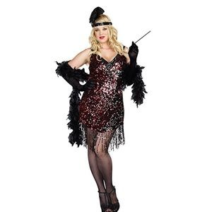 Women's Plus-Size Dames Like Us Costume DRESS