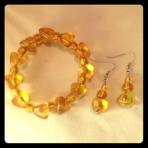 Bracelet set-New