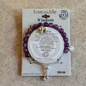 lovethislife adjustable bracelet