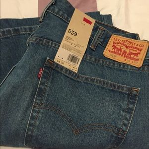 Levi Strauss 559 Relaxed Straight Cut Jeans