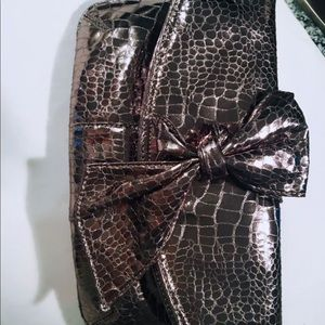 Nine West Leather Clutch (Perfect condition)