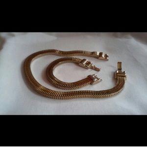 Vintage Necklace and Bracelet