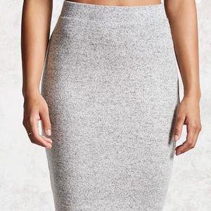 Knit Pencil Skirt (Forever 21)