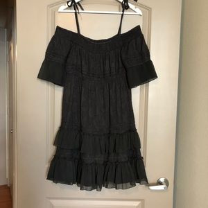 Free People off shoulder lace dress