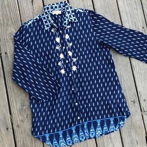 Antica Sartoria Embroidered Tunic