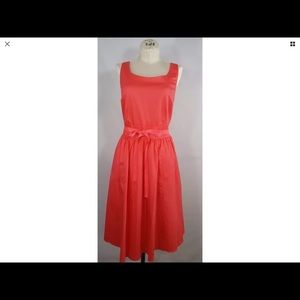 Boden Party Dress Fit & Flare Sleeveless Lined