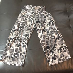 Other - Justice wide leg Leggings